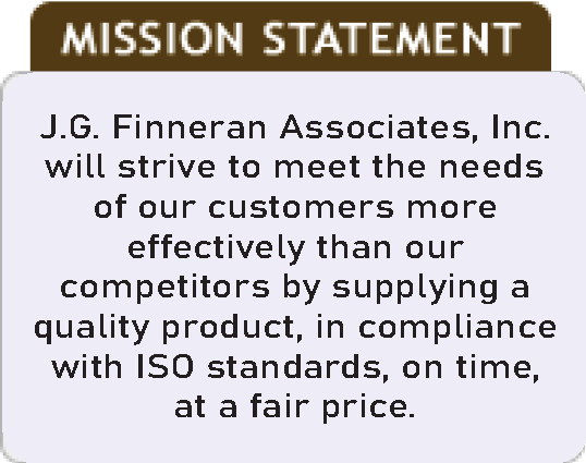 J.G. Finneran's Mission Statement